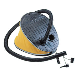 Bellow Foot Pump with 50-inch Flexible Hose
