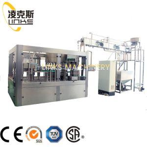 12000bph 500ml usine 1000ml Plastique Bouteille de lavage automatique de l'eau pure minérale plafonnement de l'embouteillage d'enrubannage de la machine de remplissage