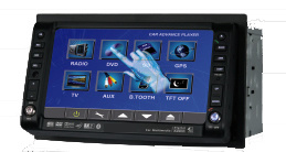 6.2  doppelter Lärm-Auto-DVD-Spieler mit Touch Screen