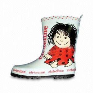 Les enfants de bottes en caoutchouc (Y5598)