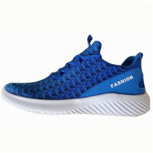 Nuevo estilo de moda hombres gimnasio zapatos casual zapatos calzado deportivo con personalizadas (ZJ19826-5)