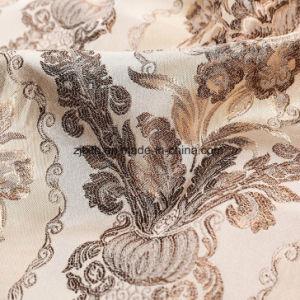 2018 Nuevo Diseño clásico de Jacquard Tejido de poliéster para sofá