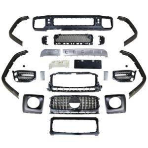 G 63 AMG W463 комплекта кузова W463 G63 бампер корпус из углеродного волокна Комплекты деталей для авто Мерседес Бенц G класса W463 G63 2019