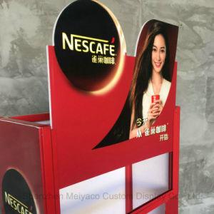 슈퍼마켓 다중층 커피 선반을 서 있는 절묘한 생산 선반 지면