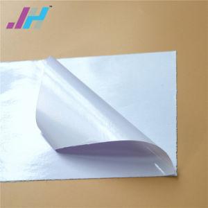 Película transparente brilhante Vinil auto-adesiva 120g