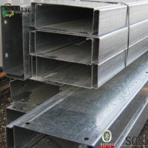 C Zection Purlin galvanizado para la construcción de la estructura de acero