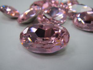 De vlak AchterKleur Ab van de Parels van de Bergkristallen van het Kristal voor de Toebehoren van het Kledingstuk