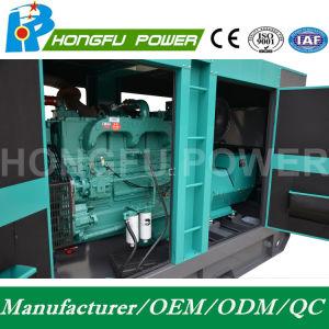 180kw 225kVA Puissance Cummins insonorisées Générateur Diesel avec régulateur électrique