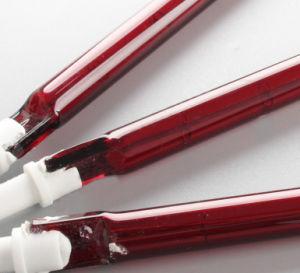 ルビー色の水晶ハロゲン暖房の管ハロゲンランプ
