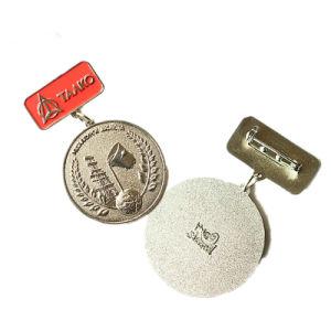De Gouden Medaille Van uitstekende kwaliteit van het Email van het Metaal van de levering met de Staaf van het Metaal voor Herinnering (yB-m-002)