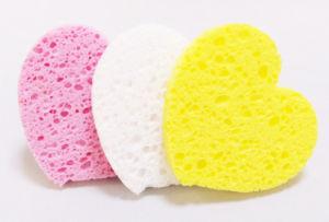 Cuisine éponge de nettoyage de magie naturelle comprimé éponge en cellulose