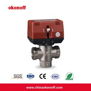 3つの方法HVAC Motrizedの真鍮弁(CKF3320T-05)