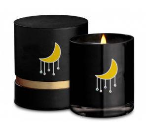 Glaskerze im Sojabohnenöl-Wachs-Material mit Luxuxgeschenk-Kasten-Verpackung