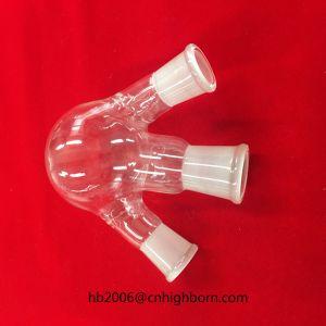 Baibo 3 목 석영 유리 실험실 비등 플라스크