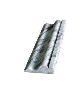 De natuurlijke Opgepoetste Marmeren Steen van het Graniet voor de Lijnen die van de Grens van de Vensterbank van de Deur & van het Venster de Tegel van de Grens van de Steen van de Decoratie van de Muur Marteral bouwen