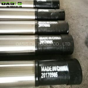 Schermi ad alta resistenza del Johnson dei filtri per pozzi del fondo del tubo dell'acciaio inossidabile