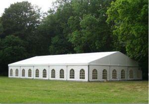 大きい贅沢1000の人の屋外のイベントの結婚披露宴の玄関ひさしのテント