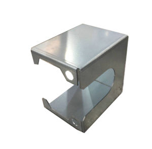 Kundenspezifische Edelstahl-Metallherstellung, die Puder-Beschichtung aufbereitet