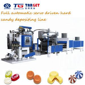 機械を作る沸かされたキャンデー2カラーキャンデー