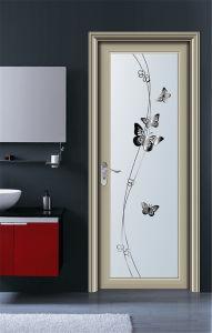 La puerta de aluminio de estilo europeo para el ba o y - Puertas para el bano ...