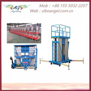 Plataforma de elevación de aleación de aluminio
