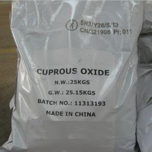 De elektrolytische van de Methode Koper van het Koper Rode 97% Fabrikant van Oxyde Cu2o