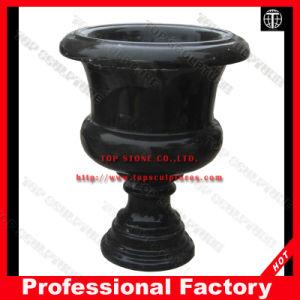 Камень, мрамор Flowerpot Flowerpot, сад Flowerpot