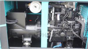 60 Ква Бесшумный Denyo дизельного генератора с Mitsubishi