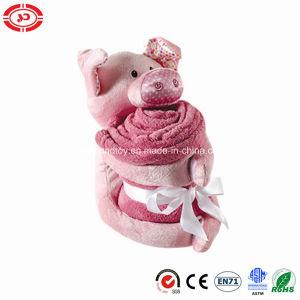 Manta para bebé suave de pelúcia suínos Velo Rosa En71 Conjunto de Oferta