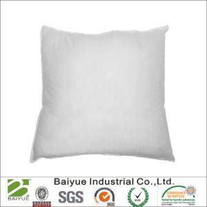 Almohada de plumas blancas abajo Standard 100% algodón almohada de plumas abajo