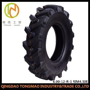 Bewässerung-Gummireifen des China-heißer Verkaufs-Traktor-Bauernhof-Reifen-(6.00-12-R-1 8PR FELGE 4.50E)
