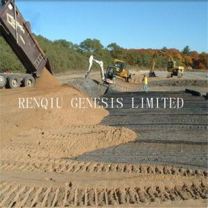 道の堤防斜面の補強のためのHDPE単軸のGeogrid