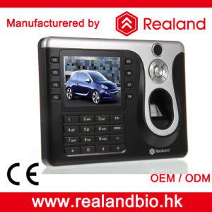 Биометрический считыватель отпечатков пальцев Realand время посещаемость систем (A-C101)