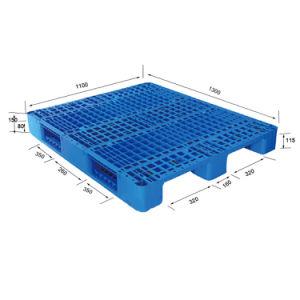 Carro de plástico resistente Nestable paletes com o HDPE para Armazenamento