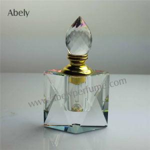 botella de petróleo esencial 6ml de botella de perfume del vidrio cristalino