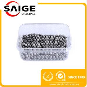 9.525mm G100 de la prueba de impacto de núcleo de bloqueo de bolas de acero inoxidable