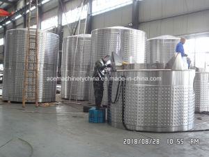 Los tanques de fermentación del vino comercial Chaqueta glicol cerveza cónica fermentador 1000L