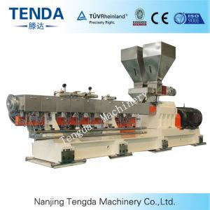 De Machine van de extruder op de Plastieken dat van de Ingenieur wordt gebruikt