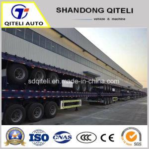 40FT 3 eixo de carga/Lateral/Mesa/contentor semi reboque do veículo