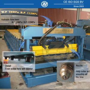 Profil de l'acier populaire carreaux émaillés panneau de toiture froide prix d'usine machine à profiler