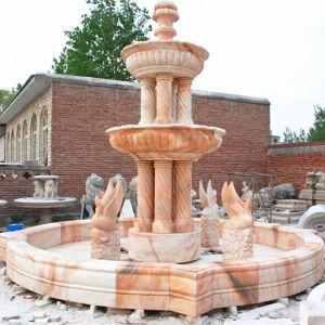 3 Fontein van de Steen van de rij de Marmeren, de Fontein van de Tuin van het Water