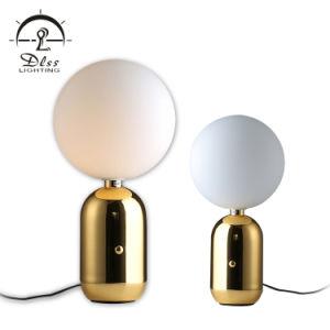 Interruptor de Toque Replice moderno candeeiro de secretária de decoração de mesa em ouro