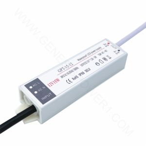 12V 1.25Aの超細い単一の出力屋外SMPS Ad/DC水中軽い変圧器、LEDドライバー電源SMPSの変圧器