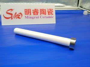 ステンレス鋼シャフトの陶磁器の管の組合せのジルコニア陶磁器の棒対鋼鉄