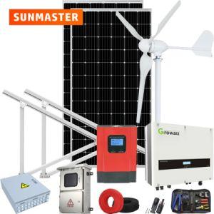 30kw hors réseau hybride vent solaire Vent Système d'alimentation