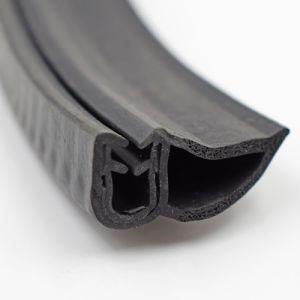 EPDM personalizado/PVC/Puerta burlete de caucho de silicona