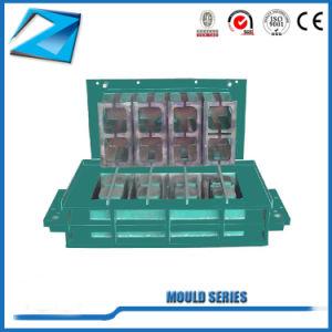 Automatische bewegliche hohle Qt4-15 Ziegeleimaschine
