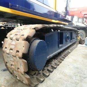 Macchinario di costruzione utilizzato 55 tonnellate di Kobelco 7055 del cingolo di gru dell'elevatore