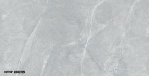 灰色カラー磁器によって磨かれる艶をかけられた床タイル