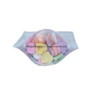 La chaleur, scellables Arrondir les coins de l'encoche de découpe de l'encoche Fleuret pochette refermable Stand up